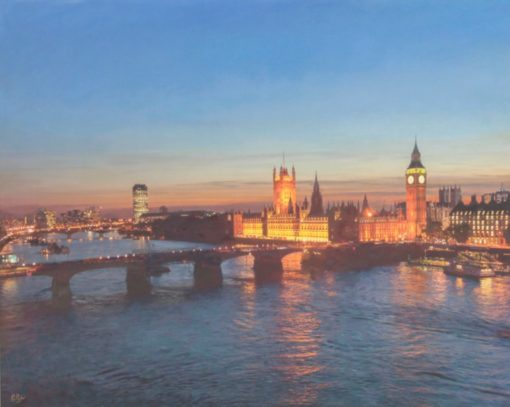 Darren Baker London Painting