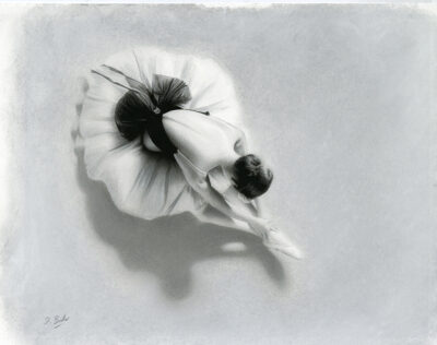 Study For Ballet Beauty Darren Baker Artist